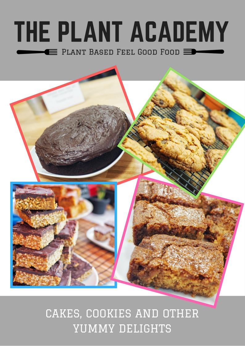 THE PLANT ACADEMY - Cake list
